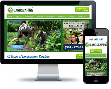 Landscaping-website-design