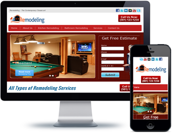 Remodeling-website-design